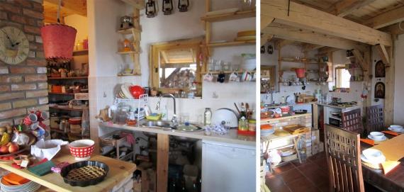 кухня в доме из соломы и камыша: Экодом своими руками