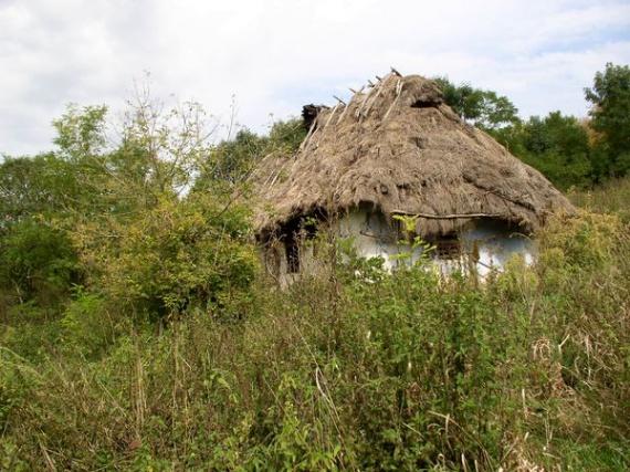 Экодом своими руками: мазанка под соломенной крышей