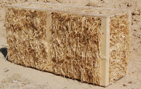 соломенный блок Bala Box: Блог им. rodovid: Экодом своими руками